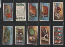 Tobacco cigarette cards Poultry Rearing & Management  1923